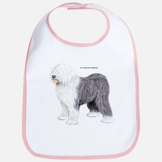 Old English Sheepdog Dog Bib