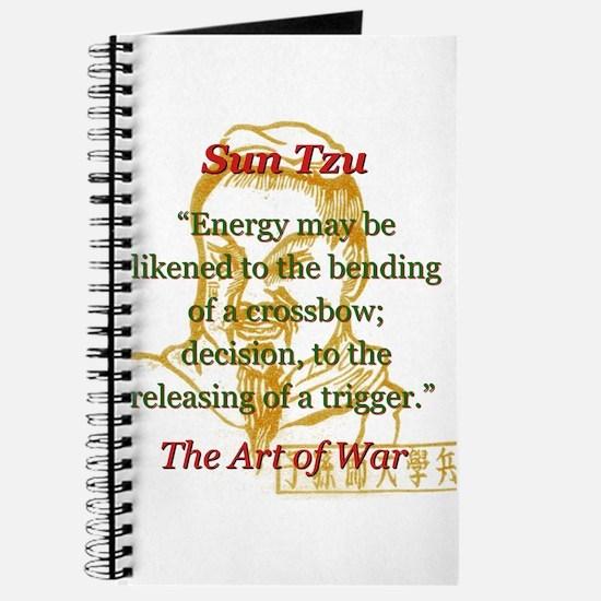 Energy May Be Likened - Sun Tzu Journal
