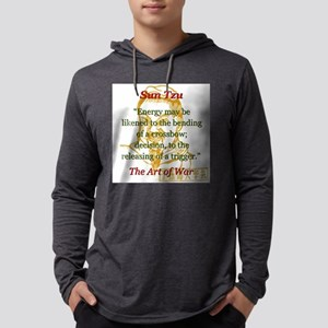 Energy May Be Likened - Sun Tzu Mens Hooded Shirt