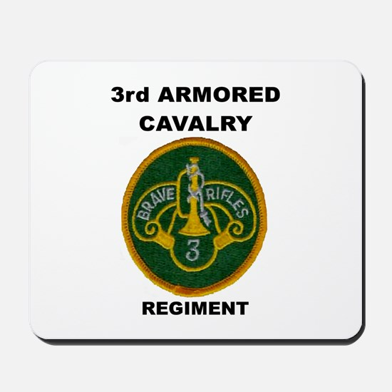 3RD ARMORED CAVALRY REGIMENT Mousepad