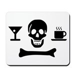 Beverage Jolly Roger Mousepad