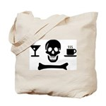 Beverage Jolly Roger Two Sided Tote Bag