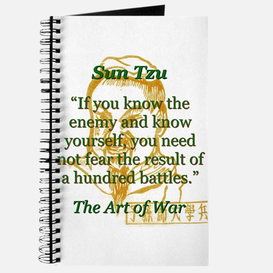 If You Know The Enemy - Sun Tzu Journal