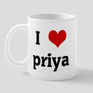 I Love priya Mug