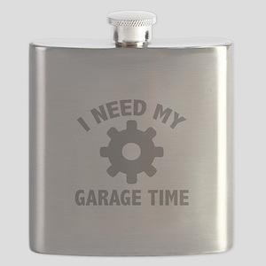 I Need My Garage Time Flask