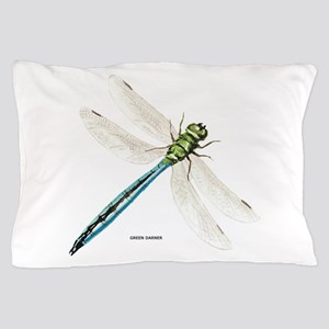 Green Darner Insect Pillow Case