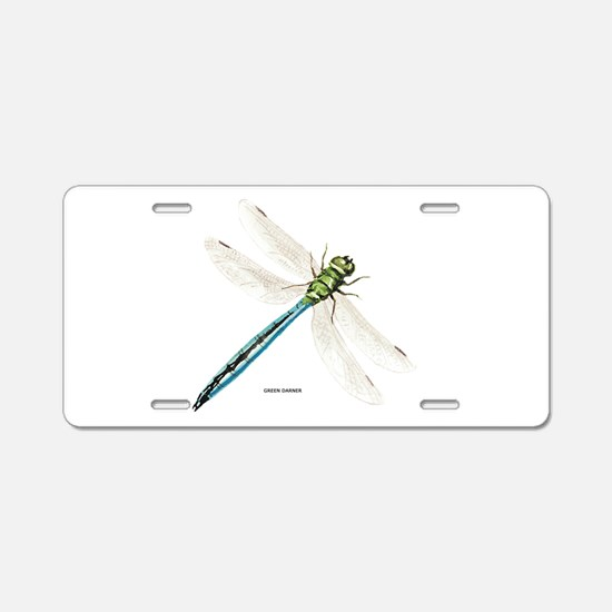 Green Darner Insect Aluminum License Plate