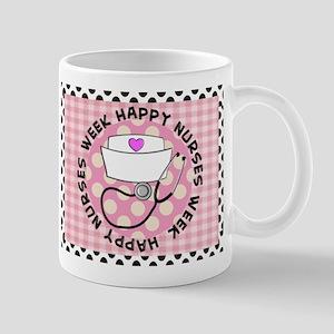 happy nurses week card pink Mug