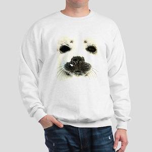 harp seal 1 Sweatshirt