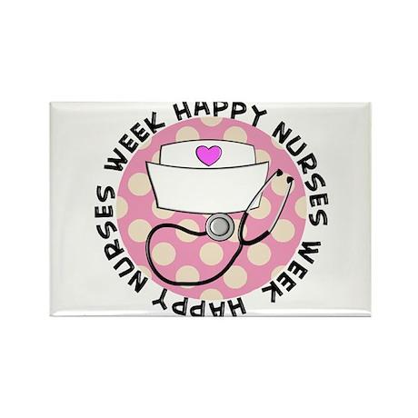 HAPPY NURSES WEEK 3 Rectangle Magnet (100 pack)