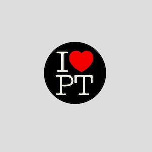 I Heart PT - Mini Button