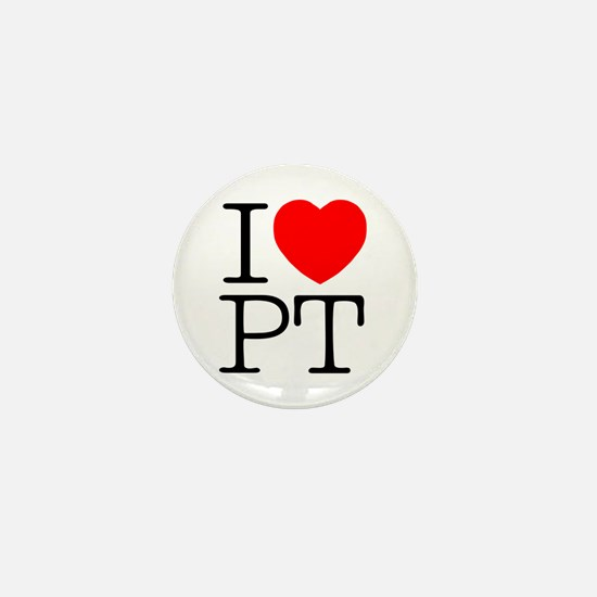 I Heart PT - Mini Button