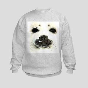 harp seal 1 Kids Sweatshirt