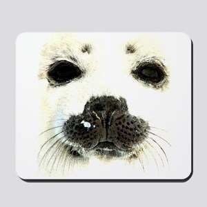 harp seal 1 Mousepad