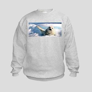 harp seal 2 Kids Sweatshirt