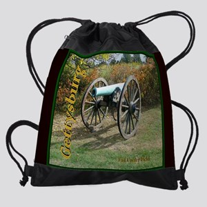 GBG East Cavalry Field in the fall Drawstring Bag