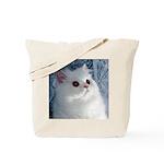 White Persian Tote Bag