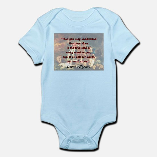 Thus You May Understand - Dante Infant Bodysuit