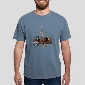 WeighingGemsOnScale12091 Mens Comfort Colors Shirt