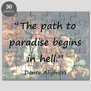 The Path To Paradise - Dante Puzzle