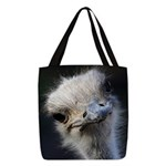 Ostrich Polyester Tote Bag