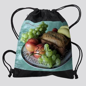 Rhymes-With-Leaven-12mos-08-calenda Drawstring Bag