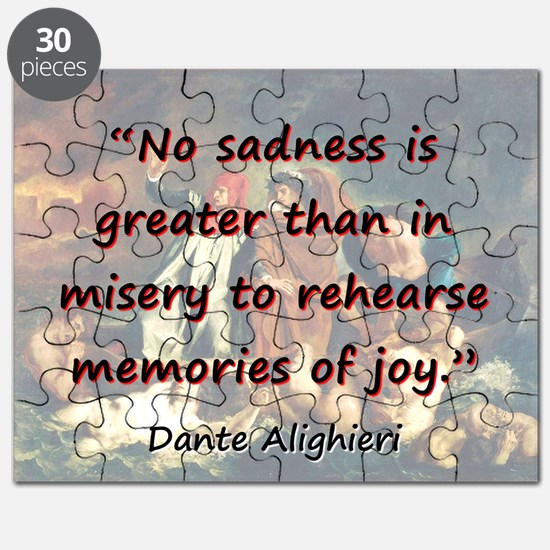 No Sadness Is Greater - Dante Puzzle