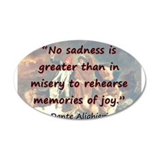 No Sadness Is Greater - Dante Wall Decal