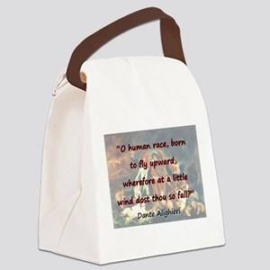 O Human Race - Dante Canvas Lunch Bag