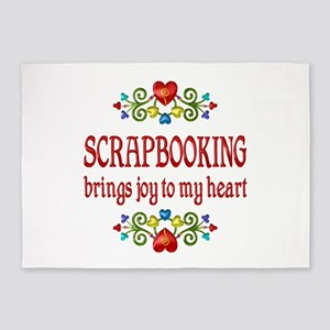 Scrapbooking Joy 5'x7'Area Rug