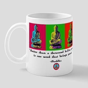 Buddha pop art Mug