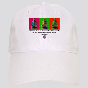 Buddha pop art Cap