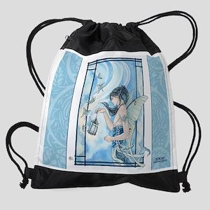 calendar - mothlight 1 Drawstring Bag