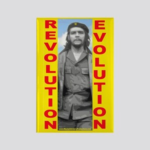 Che Revolution/Evolution Rectangle Magnet