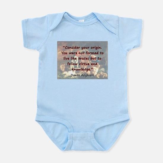 Consider Your Origin - Dante Infant Bodysuit