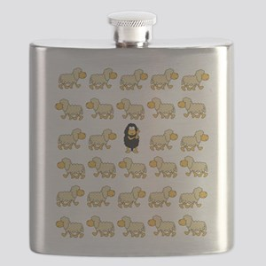 A Sheep with Attitude Flask