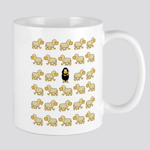 A Sheep with Attitude Mug