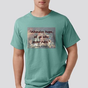 Abandon Hope - Dante Mens Comfort Colors Shirt