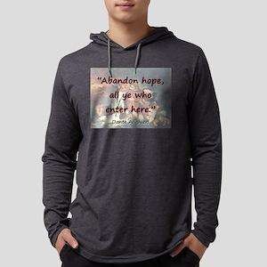 Abandon Hope - Dante Mens Hooded Shirt