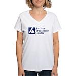 ATClogo T-Shirt - Women's V-neck