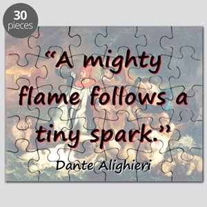 A Mighty Flame Follows - Dante Puzzle