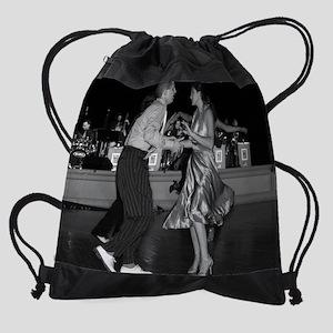 dancecouple2 Drawstring Bag