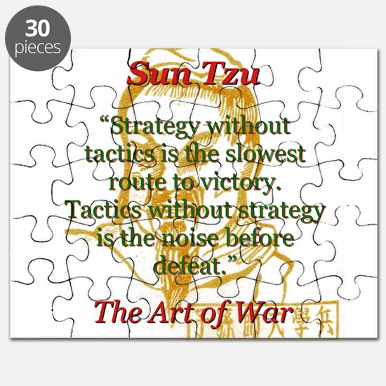 Strategy Without Tactics - Sun Tzu Puzzle