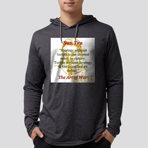 Strategy Without Tactics - Sun Tzu Mens Hooded Shi