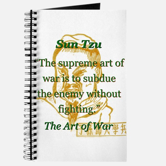 The Supreme Art Of War - Sun Tzu Journal