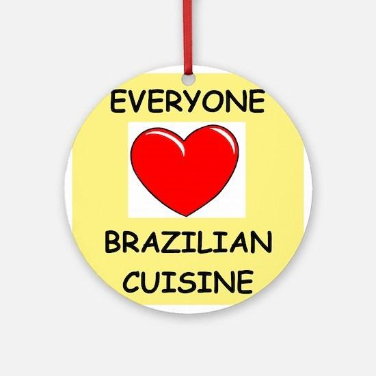 brazilian Ornament (Round)