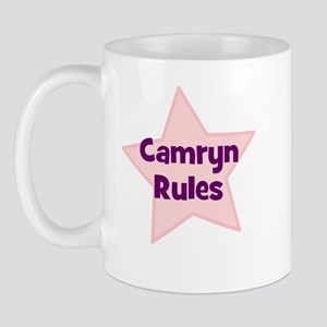 Camryn Rules Mug