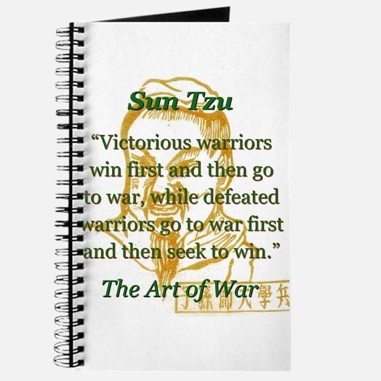 Victorious Warriors Win First - Sun Tzu Journal