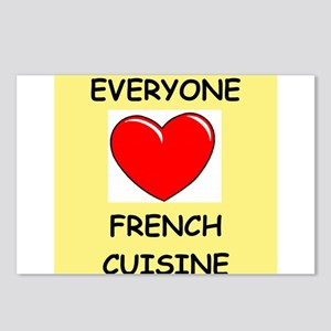 french cuisine Postcards (Package of 8)
