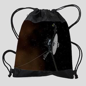 Voyager 1 spacecraft- NASA/JPL-Calt Drawstring Bag